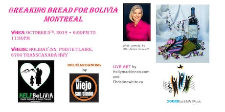 Breaking Bread for Bolivia - Montreal tickets