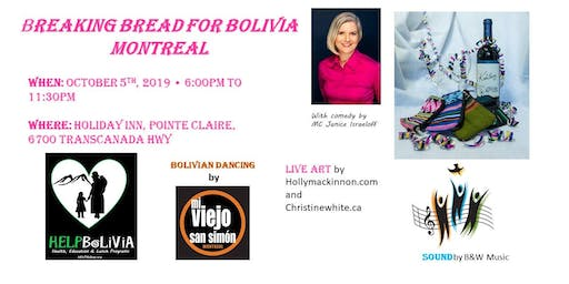 Breaking Bread for Bolivia - Montreal