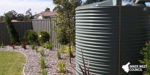Water Tank Maintenance @ Footprints Ecofestival