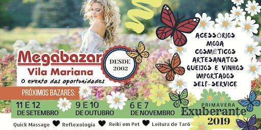 Megabazar Vila Mariana 11 e 12 de Setembro (Primavera Exuberante)