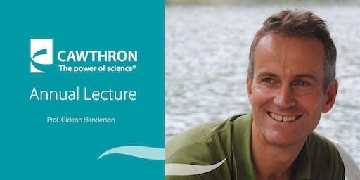 Cawthron Memorial Lecture 2019