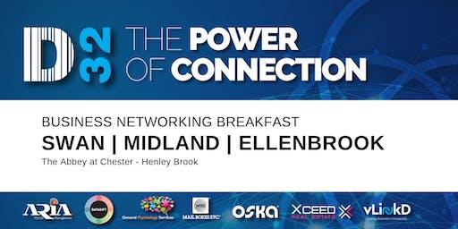 District32 Business Networking Perth – Swan / Midland / Ellenbrook - Fri 04th Oct