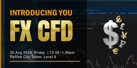 Introducing You FX CFD tickets