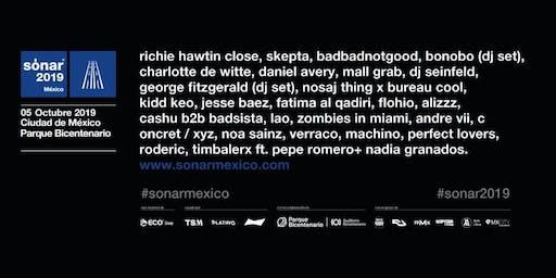 Sonar México 2019   Noches Electrónicas Mx Informa