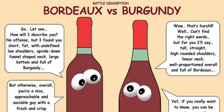 Burgundy VS. Bordeaux Tasting tickets