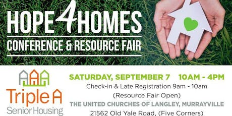 HOPE4HOMES Conference & Resource Fair tickets