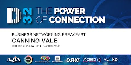 District32 Business Networking Perth – Canning Vale - Thu 17th Oct tickets