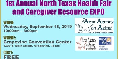 First Annual North Texas Health Fair and Caregiver Resource EXPO