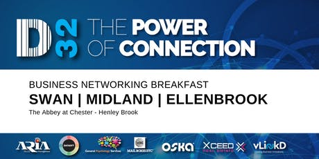 District32 Business Networking Perth – Swan / Midland / Ellenbrook - Fri 18th Oct tickets