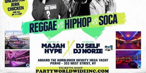 MEGA YACHT PARTY w/ COMEDIAN MAJA HYPE POWER 105.1 DJ SELF & NORIE