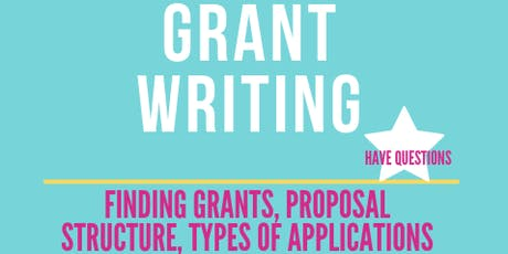 Grant Writing Seminar/WorkShop tickets