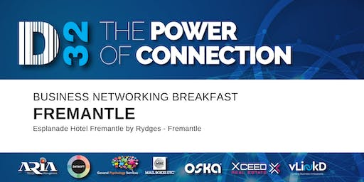 District32 Business Networking Perth – Fremantle - Wed 30th Oct
