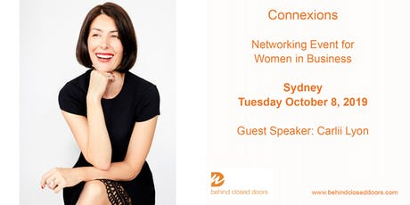 Sydney Connexions  - Networking for Business Women October 2019 tickets
