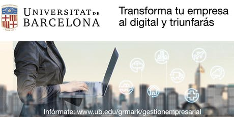 Transforma tu empresa al Digital y triunfarás tickets