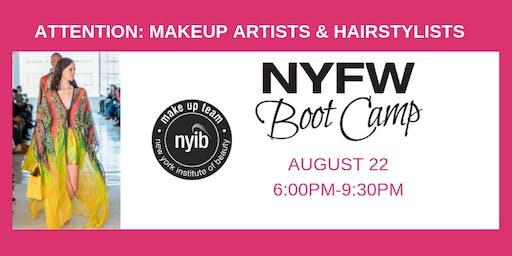 NYFW Boot Camp