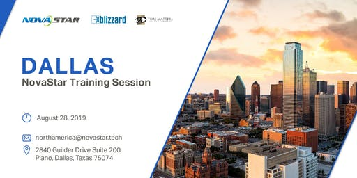 NovaStar Training Session - Dallas (August 28)