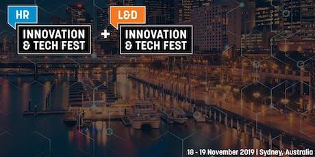 HR and L&D Innovation & Tech Fest AUS 2019 - SPEAKER REGISTRATION tickets