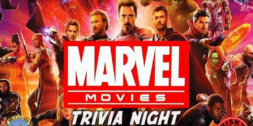 Marvel Movies Trivia NYC  (Avengers, Hulk, Thor, Captain America, Iron Man)