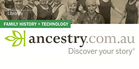 Learn to Ancestry.com - Caboolture Library tickets