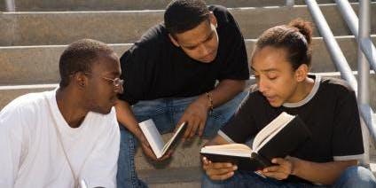 Burst Into Books' Group 5 Book Club (high school boys)
