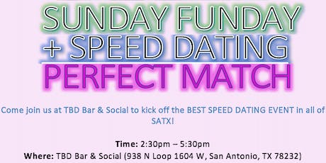 Sunday Funday Speed Dating (Ages 21-40) tickets