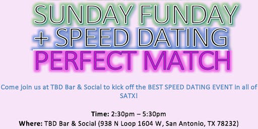 Sunday Funday Speed Dating (Ages 21-40)