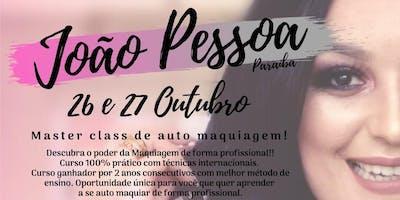 MASTER CLASS DE MAQUIAGEM - JOÃO PESSOA PB