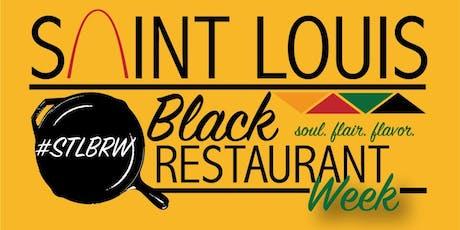 St. Louis Black Restaurant Week tickets