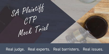 SA Plaintiff CTP Mock Trial  - The ISV under scrutiny tickets