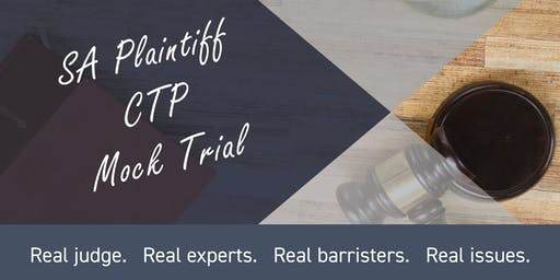 SA Plaintiff CTP Mock Trial  - The ISV under scrutiny