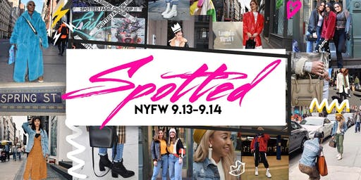 SPOTTED: NYFW