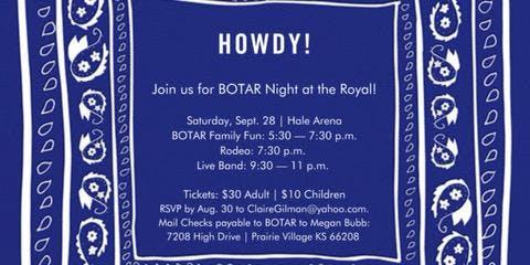 2019 BOTAR Night at the Royal