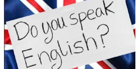 Ateliers d'anglais tout public billets