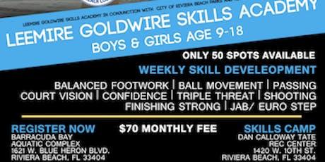 Leemire Goldwire Basketball Skills Academy tickets
