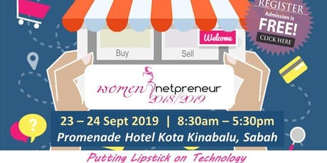 Women Netpreneur eCommerce Adoption Session (Kota Kinabalu): September 2019 tickets