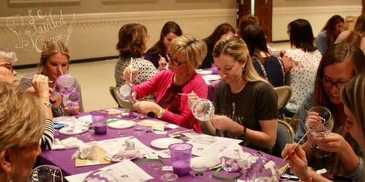 SPECIAL EVENT Wine Glass Painting class @Imbibe Wine and Spirits 8/26 @ 6pm