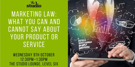 Speaker Series @ The Studio: Marketing Law tickets