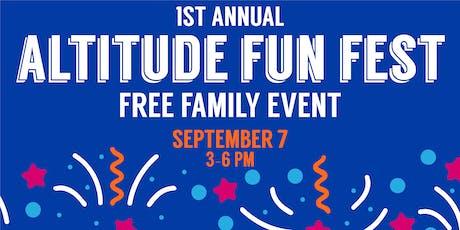 Altitude Chicago  Fun Fest! tickets