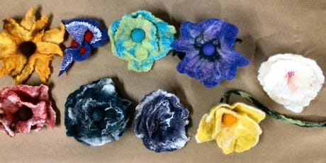 Wet Felting Flowers-Tuesday, Nov.5, 9am-noon tickets