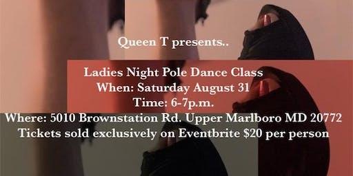 Ladies Night Pole Dance Class