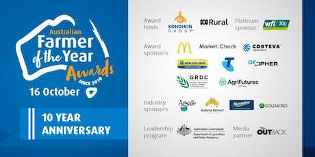 Kondinin Group and ABC Rural 2019 Australian Farmer of the Year Awards tickets