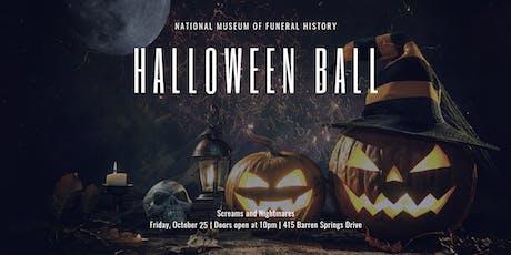 Screams and Nightmares: Halloween Ball tickets