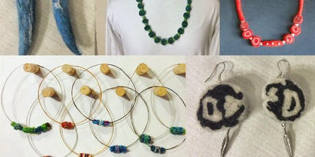 Felted Bead Earrings and Necklaces-Tuesday Nov 12, 9am-noon tickets