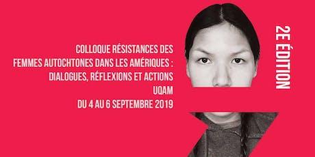 Résistances Femmes Autochtones / Resistance Indigenous Women tickets