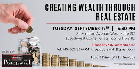 Creating Wealth Through Real Estate tickets