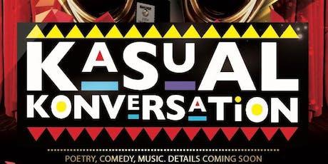 Kasual Konversation tickets