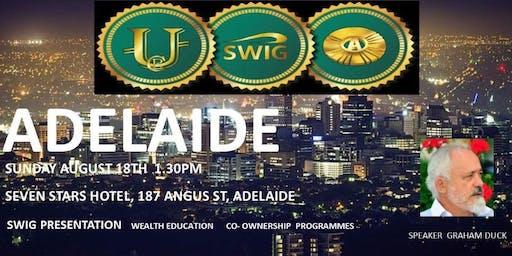 SWIG Adelaide The New Economic Evolution of the World