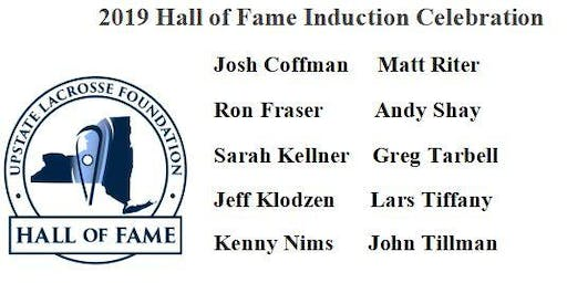 2019 Upstate Lacrosse Foundation Hall of Fame Dinner