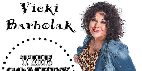 Vicki Barbolak - Saturday - 7:30pm tickets