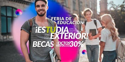 Feria de Educación, estudia en el exterior. Bogotá 2019